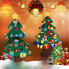 2019 innovative kid DIY christmas products new style ornaments detachable handmade christmas tree home decoration
