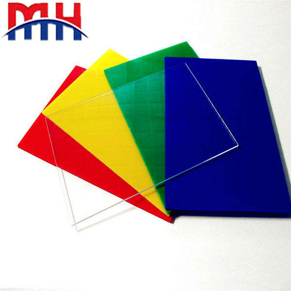Different thickness colorful abs plastic sheet abs board
