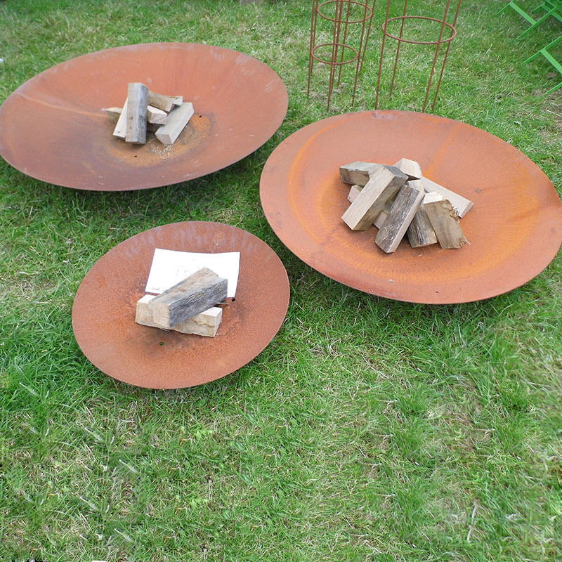Outdoor Corten Steel Fire Bowl, Wholesale Gas Fire Pits