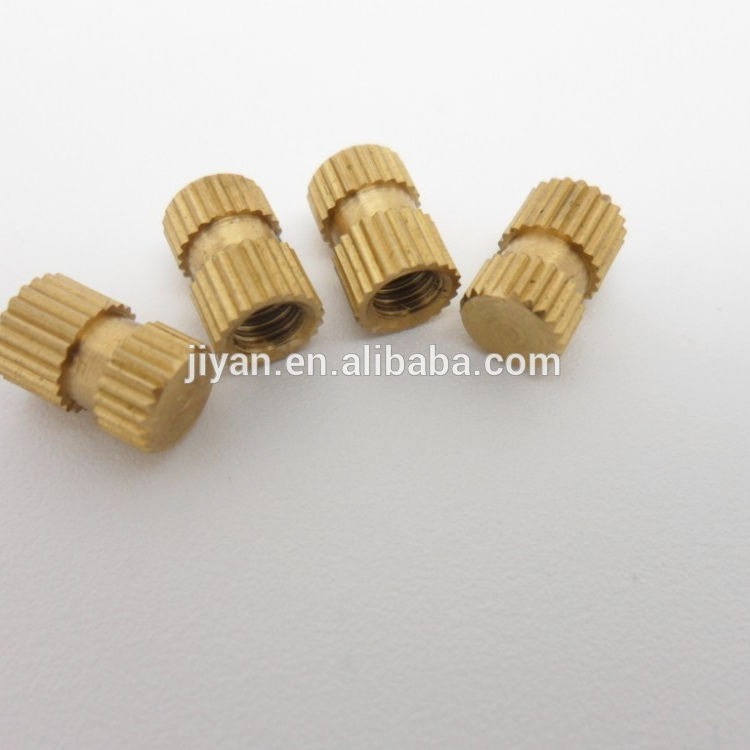 alibaba express brass rivet m4 nut insert for wood supplier in China