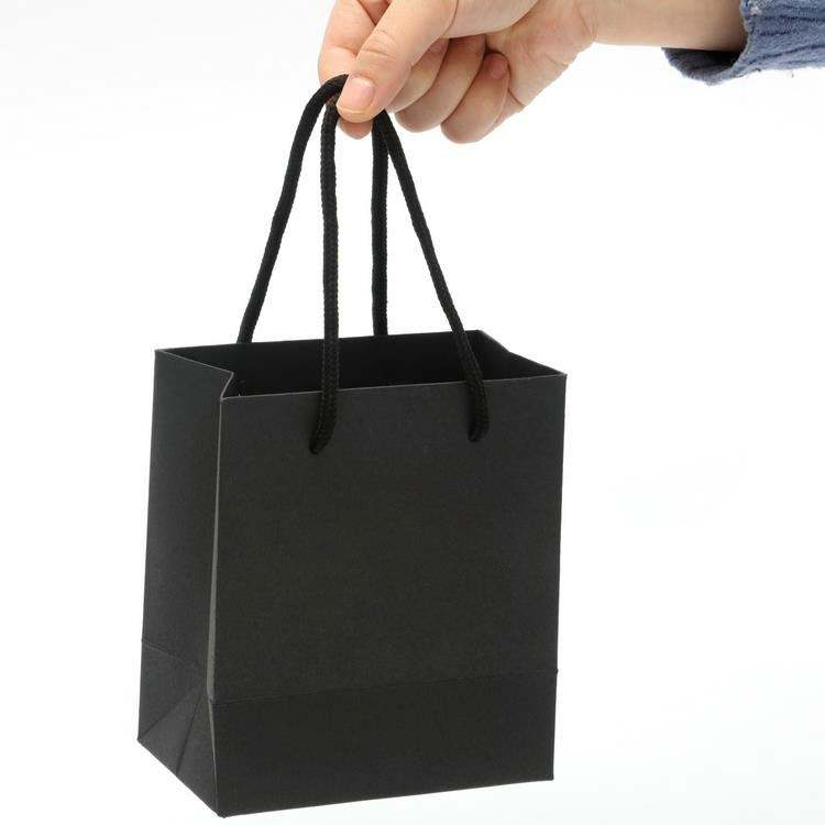 Custom print asia tissue paper goodie bag for shopping goods