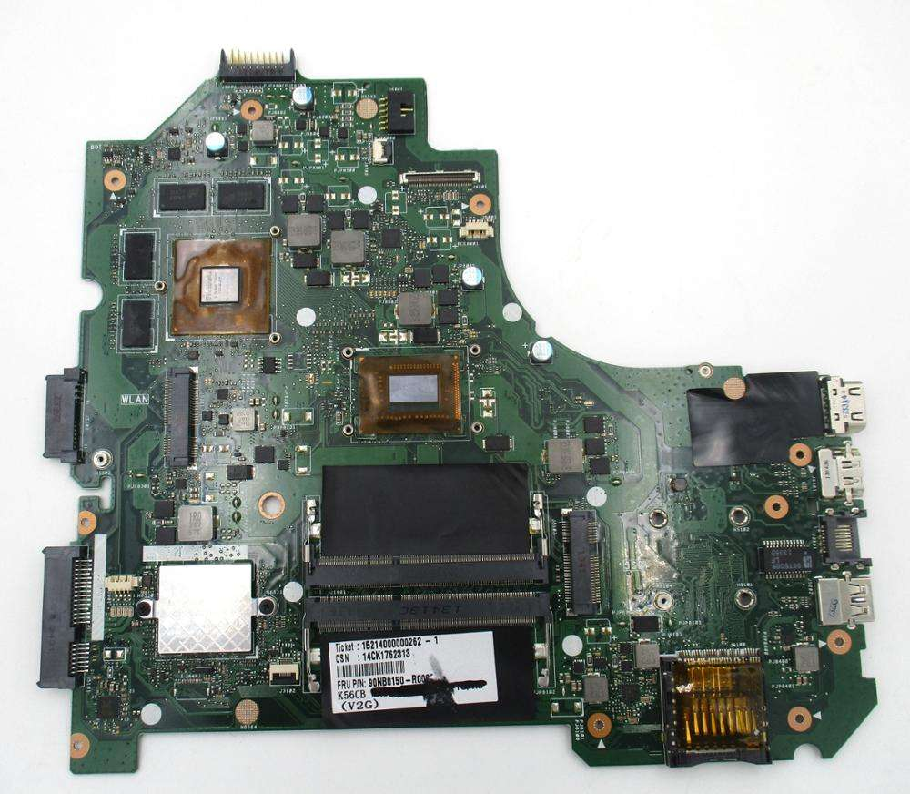Laptop motherboard for Asus k56cb s56c i5-3317u 60nb0150-mb1000