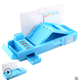Students Multifunction Stationery Pencil Case Korean Sky Blue Box