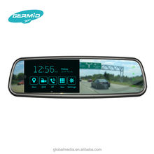 Android GPS navigation Bluetooth Electronic safety smart 5 inch car rearview mirror with original bracket reverse camera DVR rec