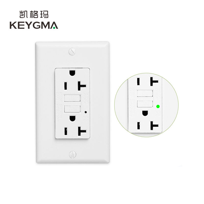 KEYGMA Test Reset <span class=keywords><strong>20A</strong></span> 120 v GFI Steckdose Outlet