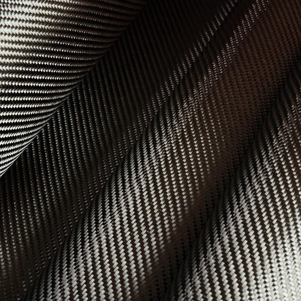 Professional 3k 200g twill carbon fiber cloth