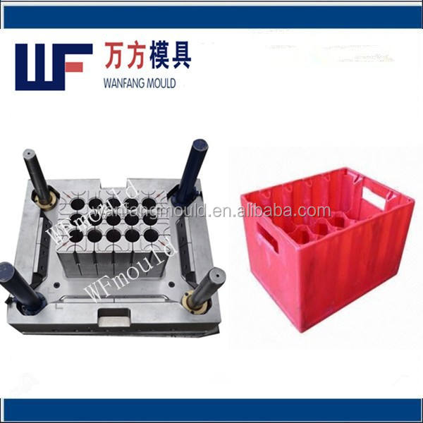 China oem custom plastic beer box injection mould mold making