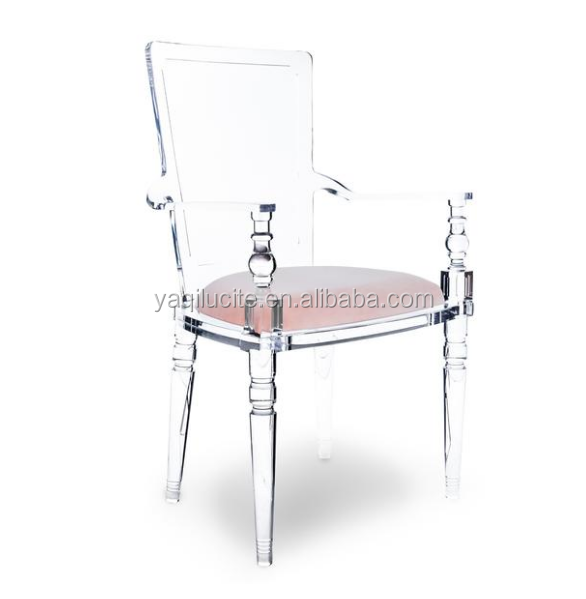 Clear Juliette Lucite Chair