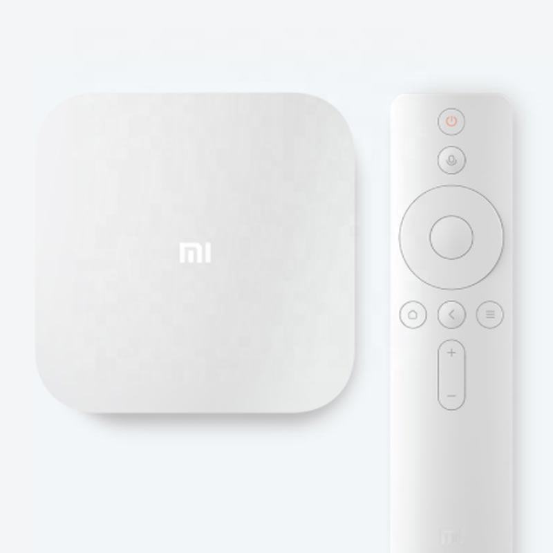 Original Xiaomi Mi Box 4 Voice Control Android Mi TV Box 2GB RAM + 8GB ROM 2.4 For 4K HDR / H.265 Media Player