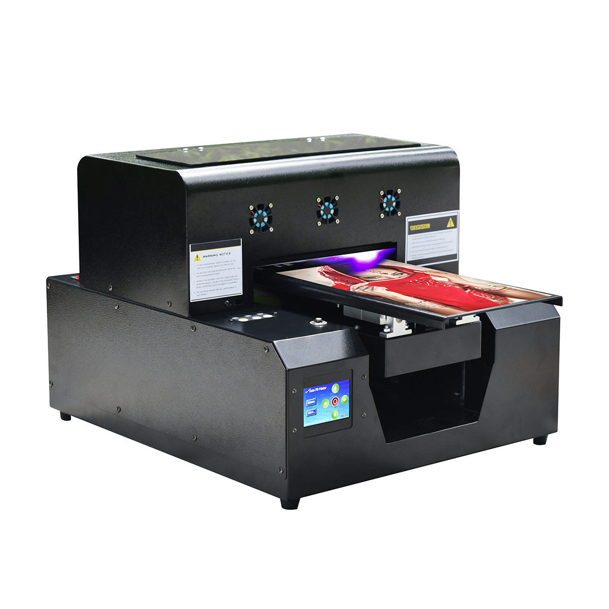 Digital Harga Printer Multifungsi Flatbed A4 Kertas Printer Uv Printer Inkjet