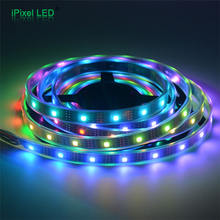 ws2801adhesive rope color changing SMD5050 rgb led strip light