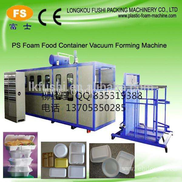 Plastic Tray Making Machine Take Away Food Box Making Machine Plastic Tray Container Machine