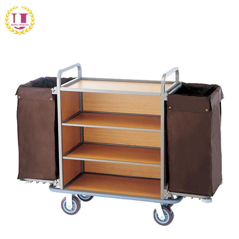 Hotel Housekeeping Room Attendant Trolley for Sale