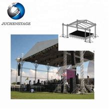Free Design Guangzhou JUCHENSTAGE Truss Factory Aluminum Stage Roof Truss System