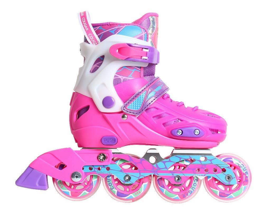 広州子供靴工場提供カーボンフレームインラインスケート靴
