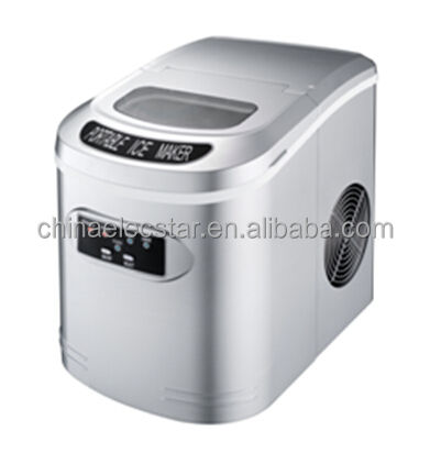 mini bullet ice maker with LED display , countertop home ice maker machine