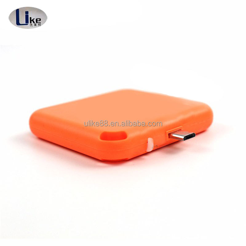 emergency charger for smartphone bank for Android phone 1000mah smartphone disposable charge one time use power bank