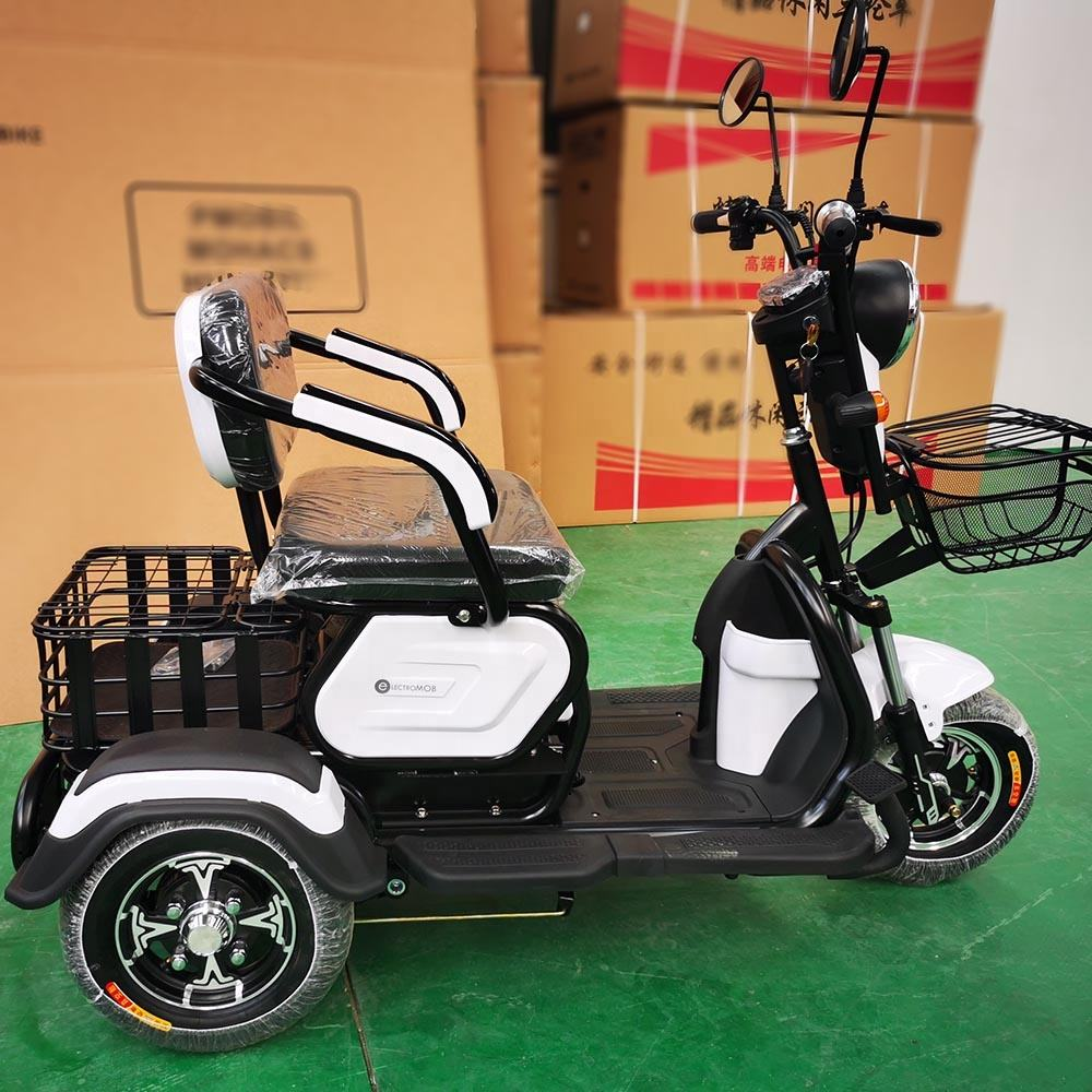 Electric tricycle 500W 350W differiential motor 3 wheel CE
