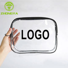 Custom Cosmetic Pvc Bag, Cosmetic Bag Pvc, Custom Transparent Clear Pvc Cosmetic Bag
