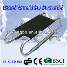 Outdoor Aluminum Folding Sled Snow for Children(SB-Sled-02B)
