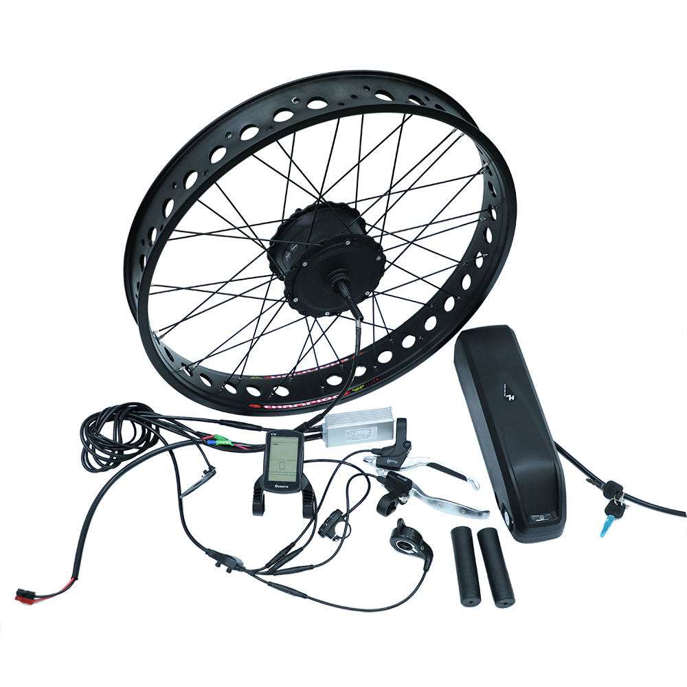 CNEBIKES 48v 500w H06 geared hub motor snow bike conversion kit