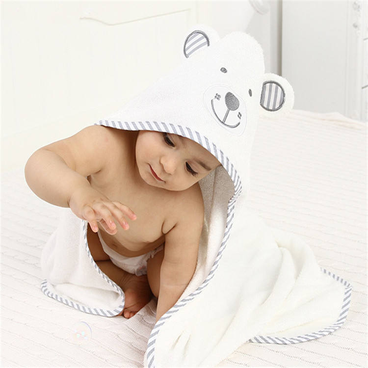 Direct Factory Supply Amazon Online Store Baby Hooded Towel 100% Organic Bamboo