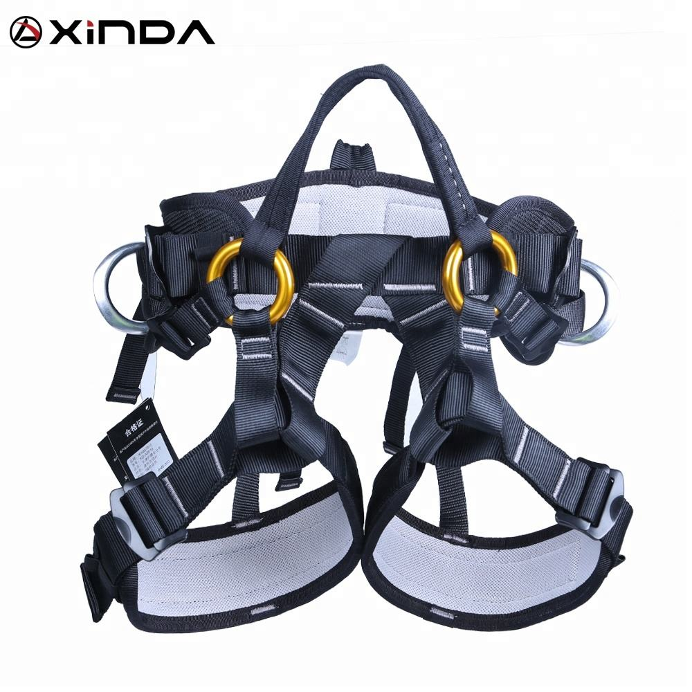 XINDA high strength tree climbing half body arborist harness