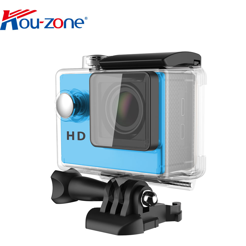 Wholesale Waterproof Hd 720P Action Camera Cheap 2 Inch 1080P HD sport dv waterproof sports camera