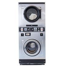 Self service laundry 20kg stack washer and dryer