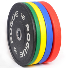 DEAN Colorful Fitness Gym Rubber Coated Weight Bumper Plate