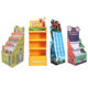 Supermarket Promotional Cardboard Corrugated Display Rack,Cardboard Carton Paper Floor Display Stand