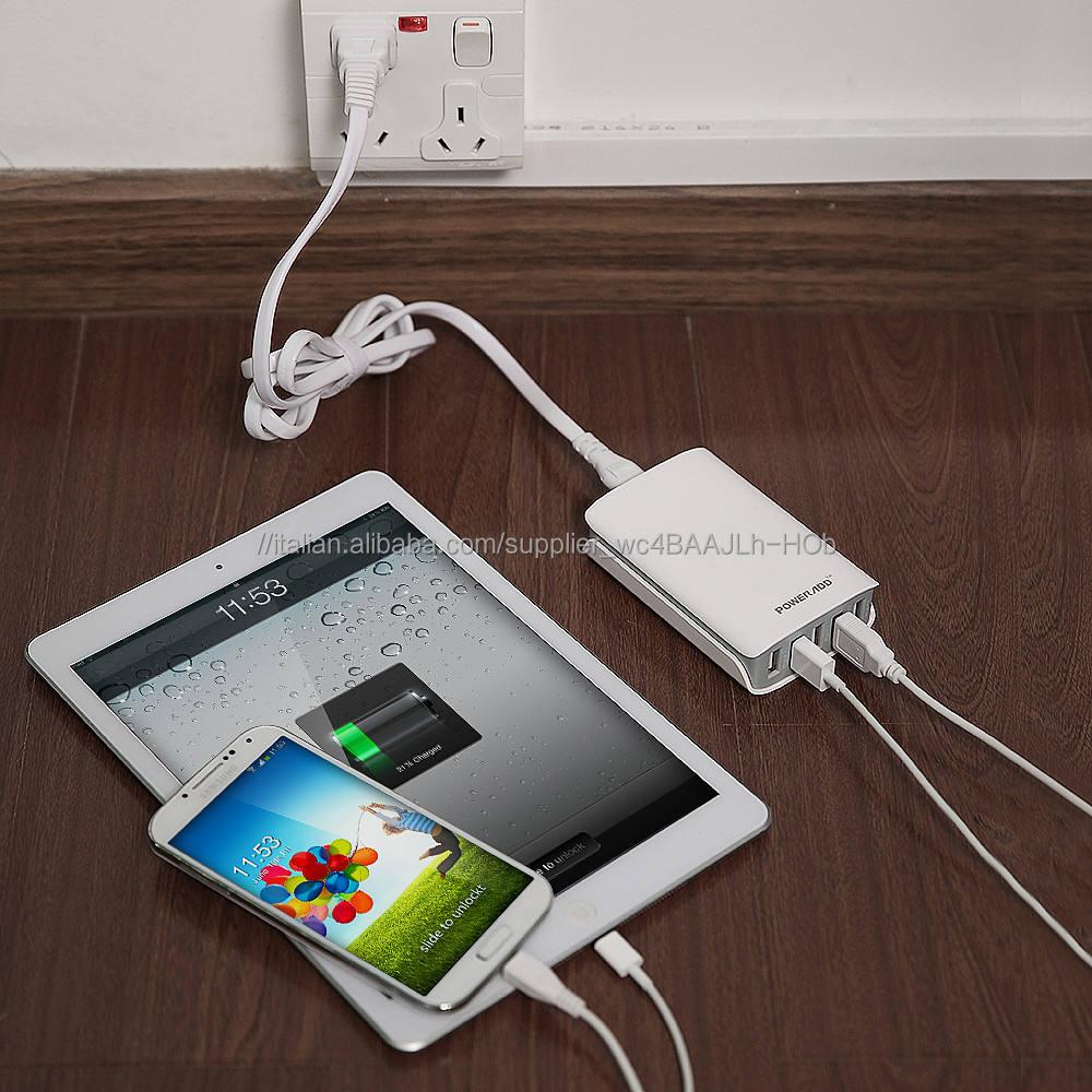 Cinque Porta USB power adapter 25 W/5A caricatore USB per iPhone, Samsung