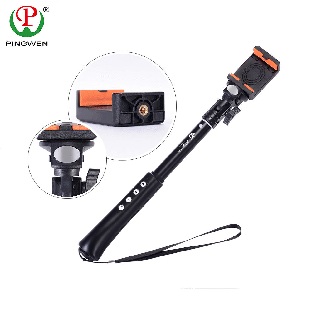 Hot selling multifunctional wireless selfie stick monopod for mobile phone