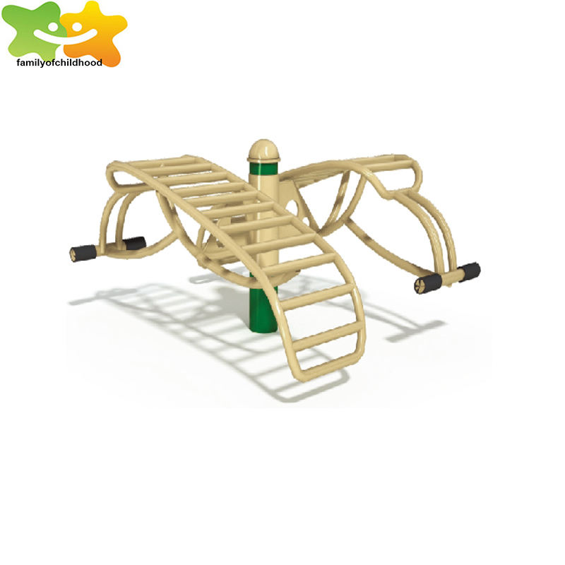 Outdoor fitness apparatuur fabriek- sit-up board in het park