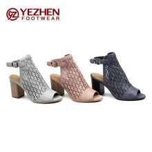 Latest summer ladies beautiful high heel sandals for women