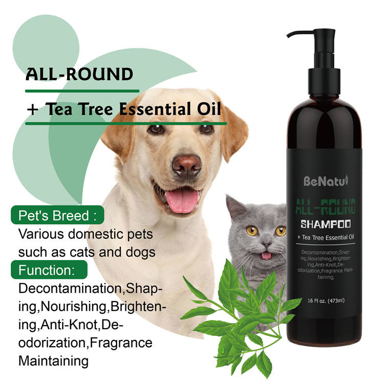 Private Label Pet Shampoo Pet Dry Cleaning Shampoo for Both Dogs and Cats Shower