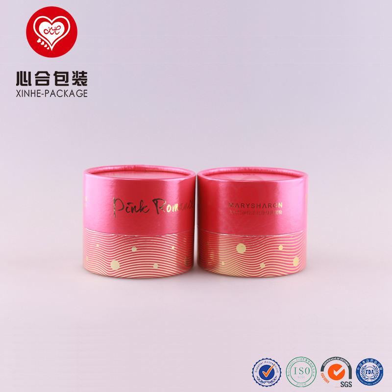 9,3 см диаметр X 8 см Высота переработанного картона порошок контейнер/круглый корпус порошок упаковочной бумаги цилиндр коробка