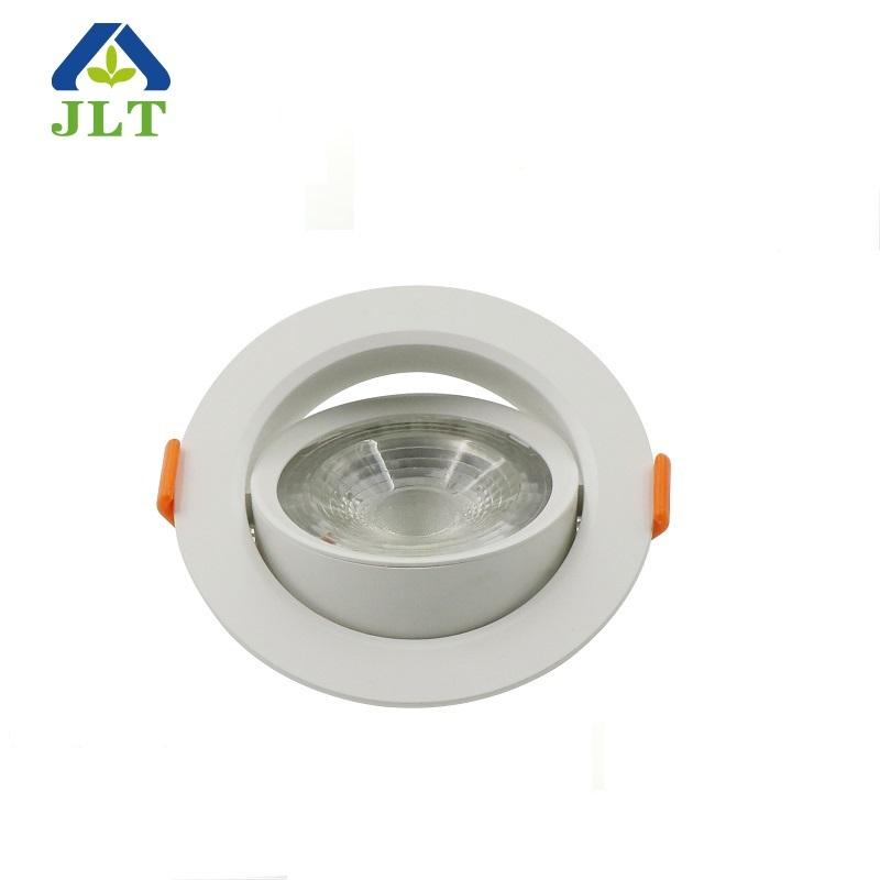 Hot selling ip44 dimmable adjustable led recessed spot downlight parts