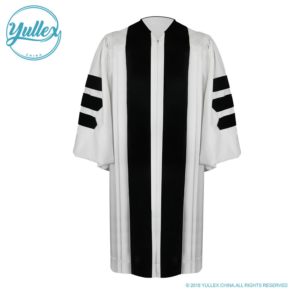 Deluxe Wit Clergy Gewaad