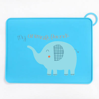Xianghong Food Grade Silicone Place Mat für Kids Table Placemat