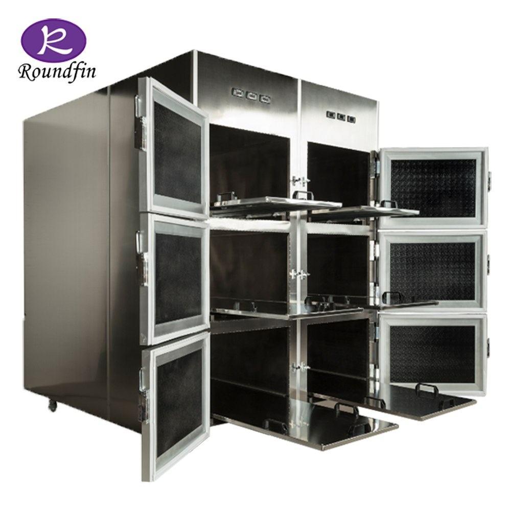 Mortuary tedarikçisi Buzdolabı tabut Vücut soğutucu tabut için farklı boyut seçim