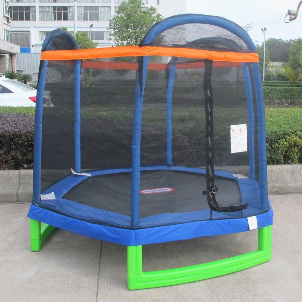 7FT stainless steel trampoline cheap gymnastics equipment for sale