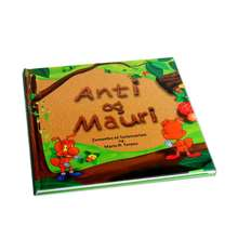 Eco friendly hardcover children picture book printing