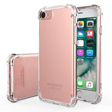 Wholesale Mobile Cell Phone Case Soft TPU Silicone Clear /Transparent Shockproof Case For iPhone X/XS,XS MAX,XR,6/7/8/plus