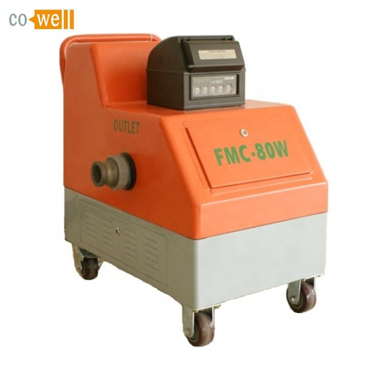 Cowell gravity unloading digital flow meter unit for tank truck unloading oil