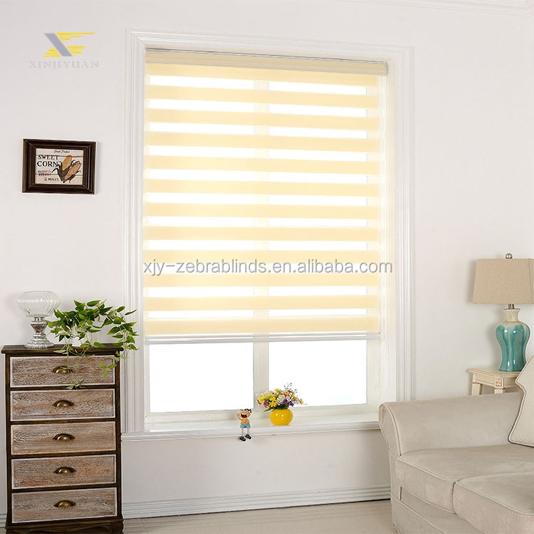 Roman Curtain [ New Curtain ] New Product Cheap Blackout Zebra Blinds Sheer Curtain Fabric