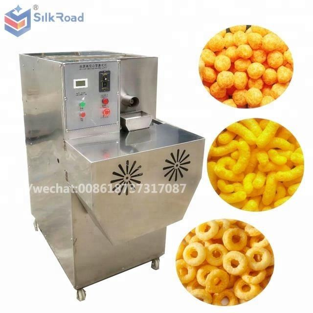 Commercial Corn grifts puff extruder machine to produce Cheeto Kurkure snack food
