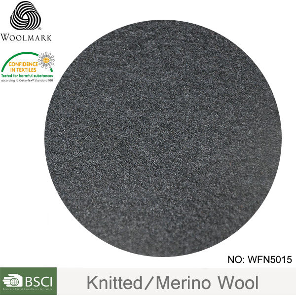 Merino wool blended fabric high quality, cheap wool knitted fabric