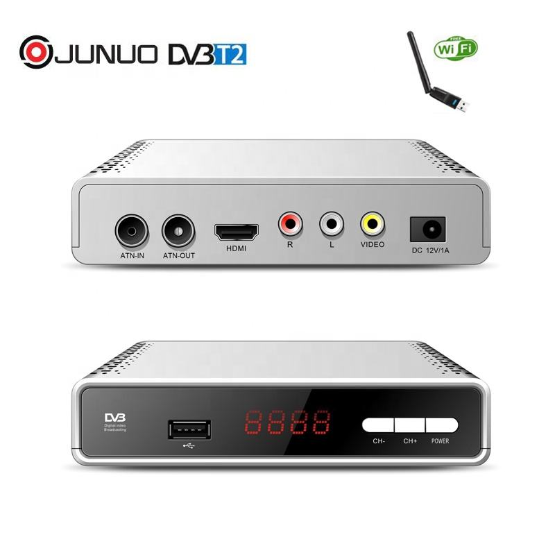 JUNUO professional multifunction software upgrade common interface dvb-t2