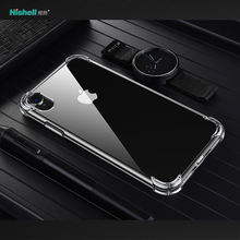 Shock Proof Transparent  TPU Cell Phone Case For Iphone Xr